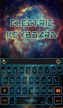Free Electric Keyboard Theme poster