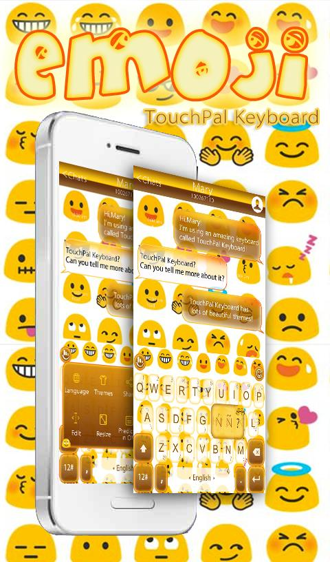 TouchPal Emoji Keyboard Theme for Android - APK Download