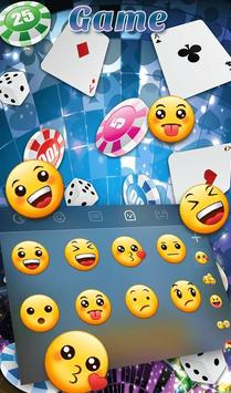 Playing Cards Game Keyboard Theme स्क्रीनशॉट 4