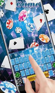 Playing Cards Game Keyboard Theme स्क्रीनशॉट 2