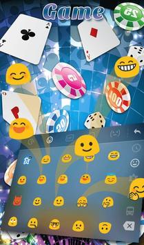 Playing Cards Game Keyboard Theme स्क्रीनशॉट 3