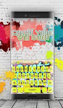 Graffiti Yellow Wall Street screenshot 1