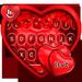 Tema de teclado de coração romântico ao vivo