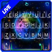Live Starry Sky Keyboard Theme icon