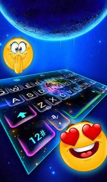 Live Starry Sky Keyboard Theme screenshot 1