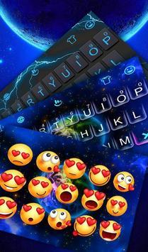 Live Starry Sky Keyboard Theme screenshot 3