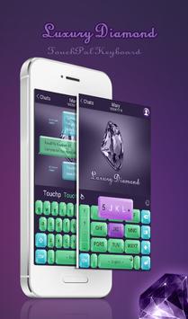 TouchPal Luxury Diamond Theme poster