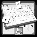 Pearl White Keyboard Theme
