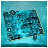 Blue Glow Lion Keyboard Theme APK