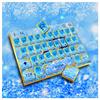 Fancy Diamond Blue Rose Keyboard APK