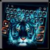 Neon Tiger Blaze Keyboard Theme APK