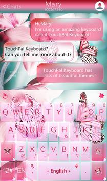 Pink Butterfly Ekran Görüntüsü 1