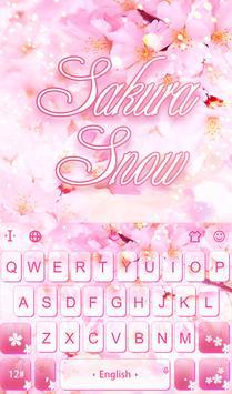 Sakura Snow poster