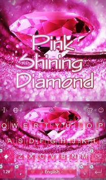 Pink Shining Diamond poster