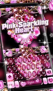 Pink Sparkling Heart screenshot 1