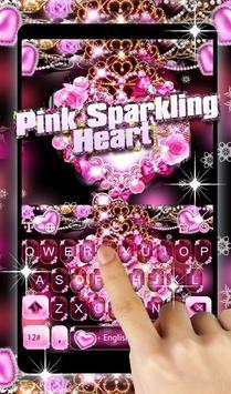 Pink Sparkling Heart screenshot 2