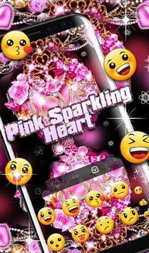 Pink Sparkling Heart screenshot 4