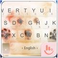 Puppy Emoji Keyboard Theme