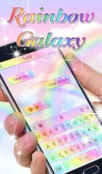 Rainbow Galaxy 海报