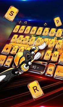 Speed Super Car Keyboard Theme screenshot 2