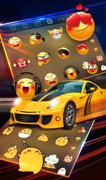 Speed Super Car Keyboard Theme screenshot 4