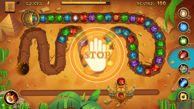 Jungle Marble Blast تصوير الشاشة 3