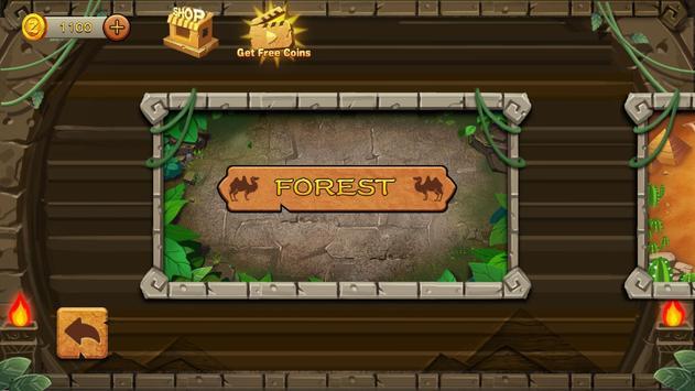 Jungle Marble Blast تصوير الشاشة 7