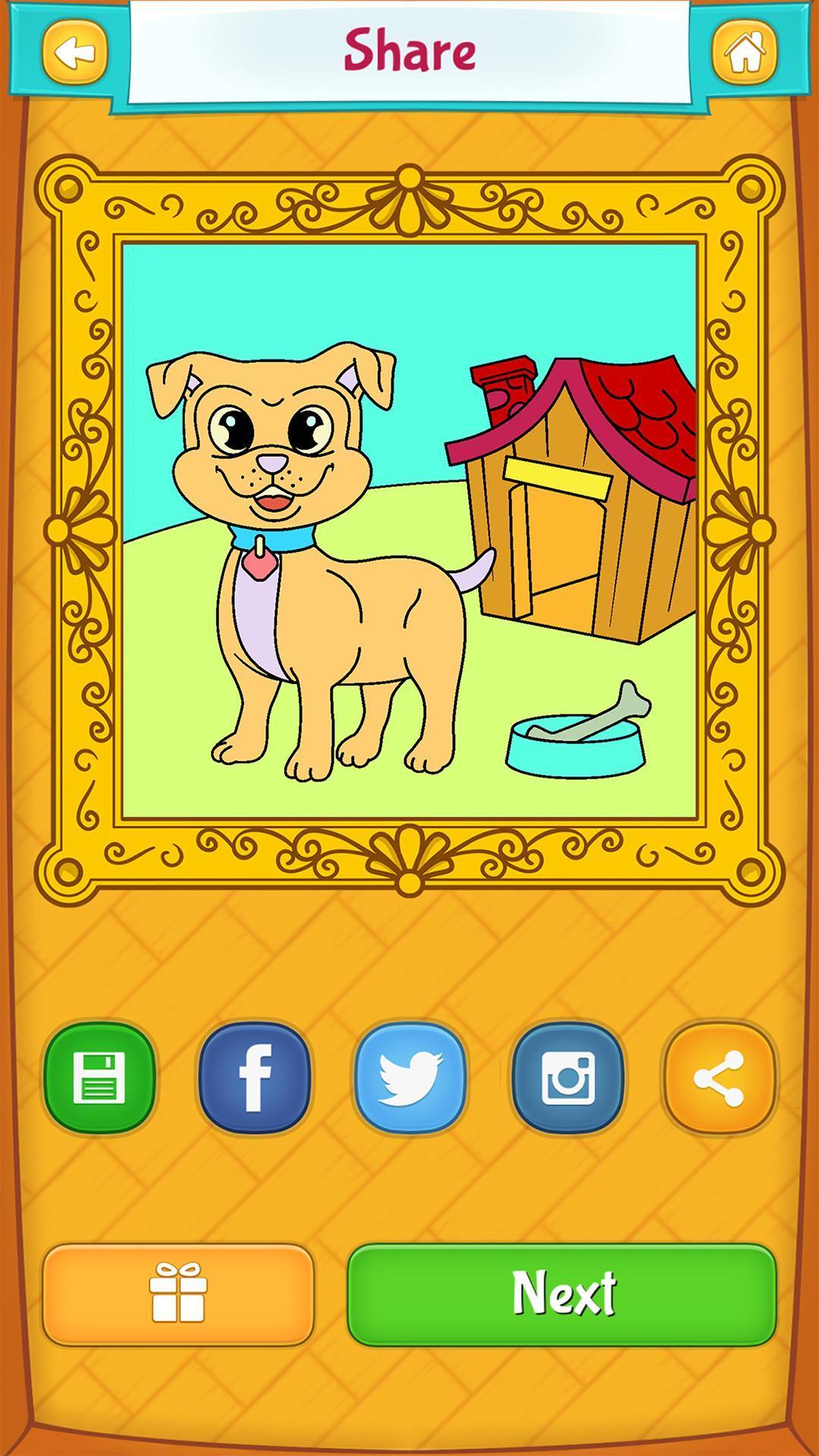 Kleurplaten Honden Duitse Herder.Honden Kleurplaten For Android Apk Download