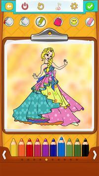 Princess Coloring Pages screenshot 10