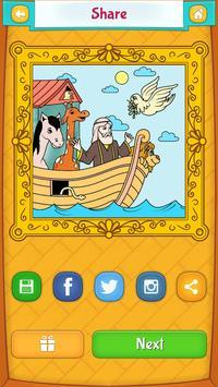 Bible Coloring Book screenshot 8
