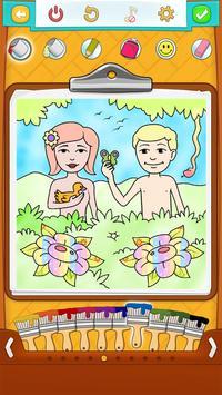 Bible Coloring Book screenshot 10