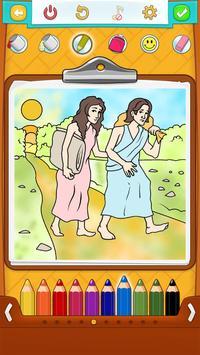 Bible Coloring Book screenshot 11