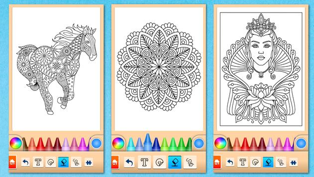Mandala Coloring Pages screenshot 13
