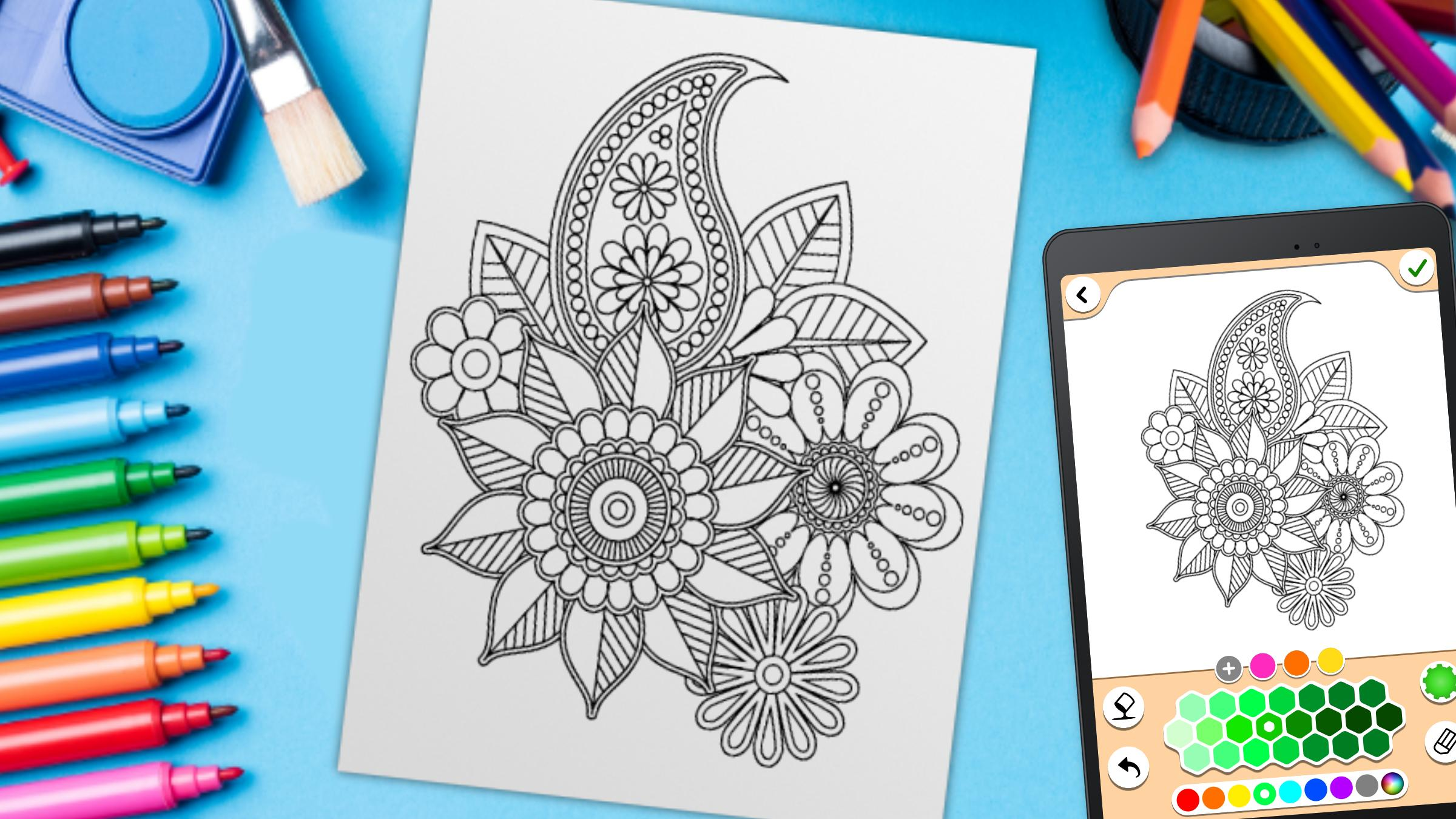Mandala Coloring Pages For Android Apk Download