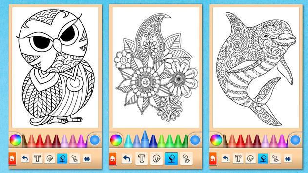 Mandala Coloring Pages screenshot 5
