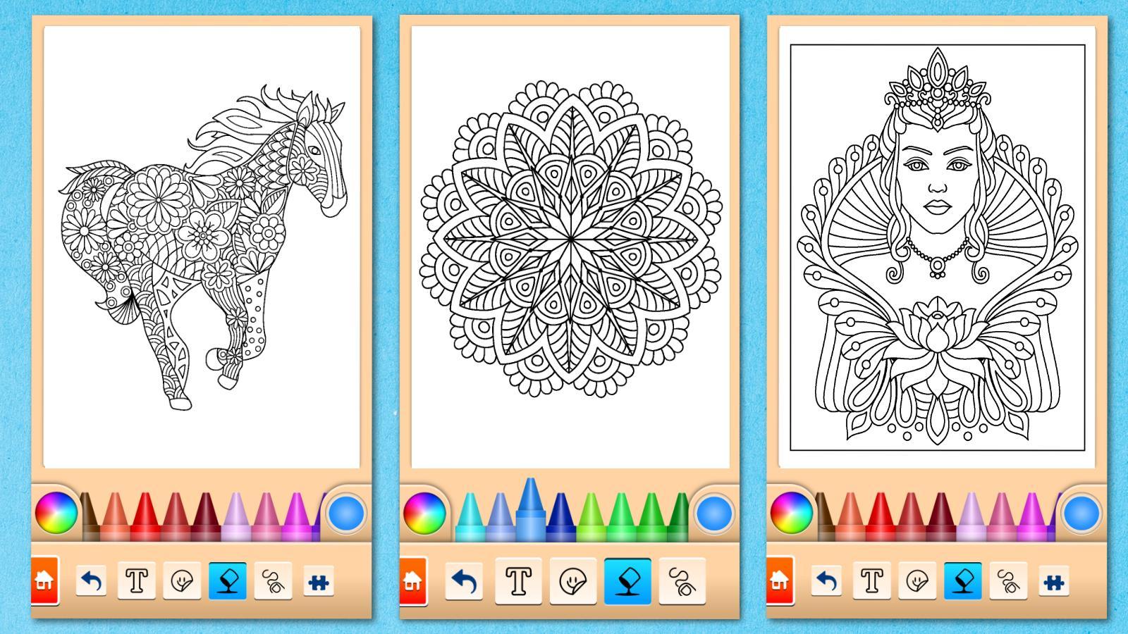 Mandala Malvorlagen für Android - APK herunterladen