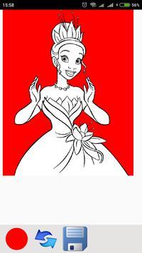 Cute Princess coloring pages screenshot 6
