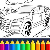 Ausmalbilder Für Kinder Autos Für Android Apk Herunterladen