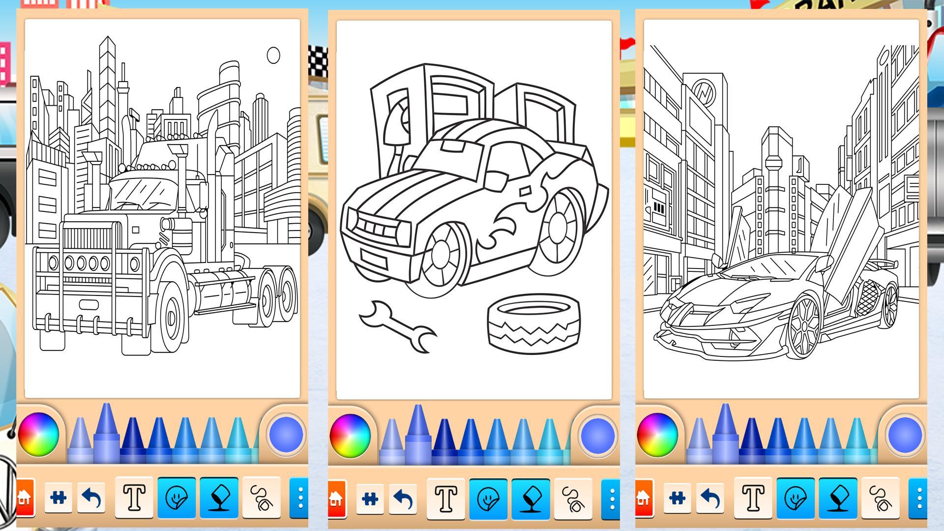 Arabalar 3 Boyama Sayfalary Boyama Sayfasi