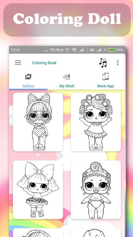 Buku Mewarnai Lol Doll Surprise For Android Apk Download