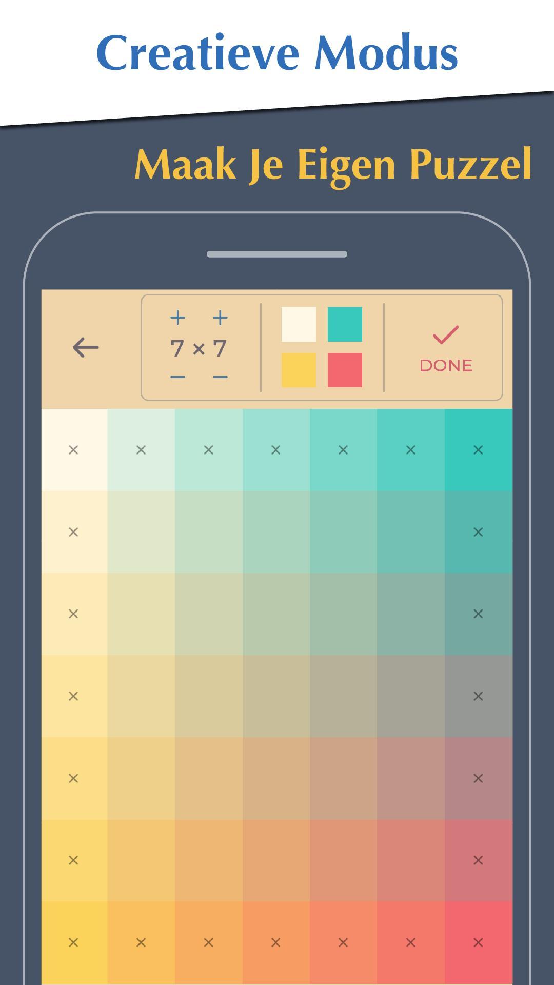 Kleurenpuzzelspel Gratis Kleurtint Wallpaper For Android