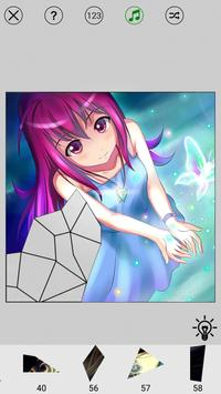 Manga Anime Paint By Numbers Puzzle screenshot 3