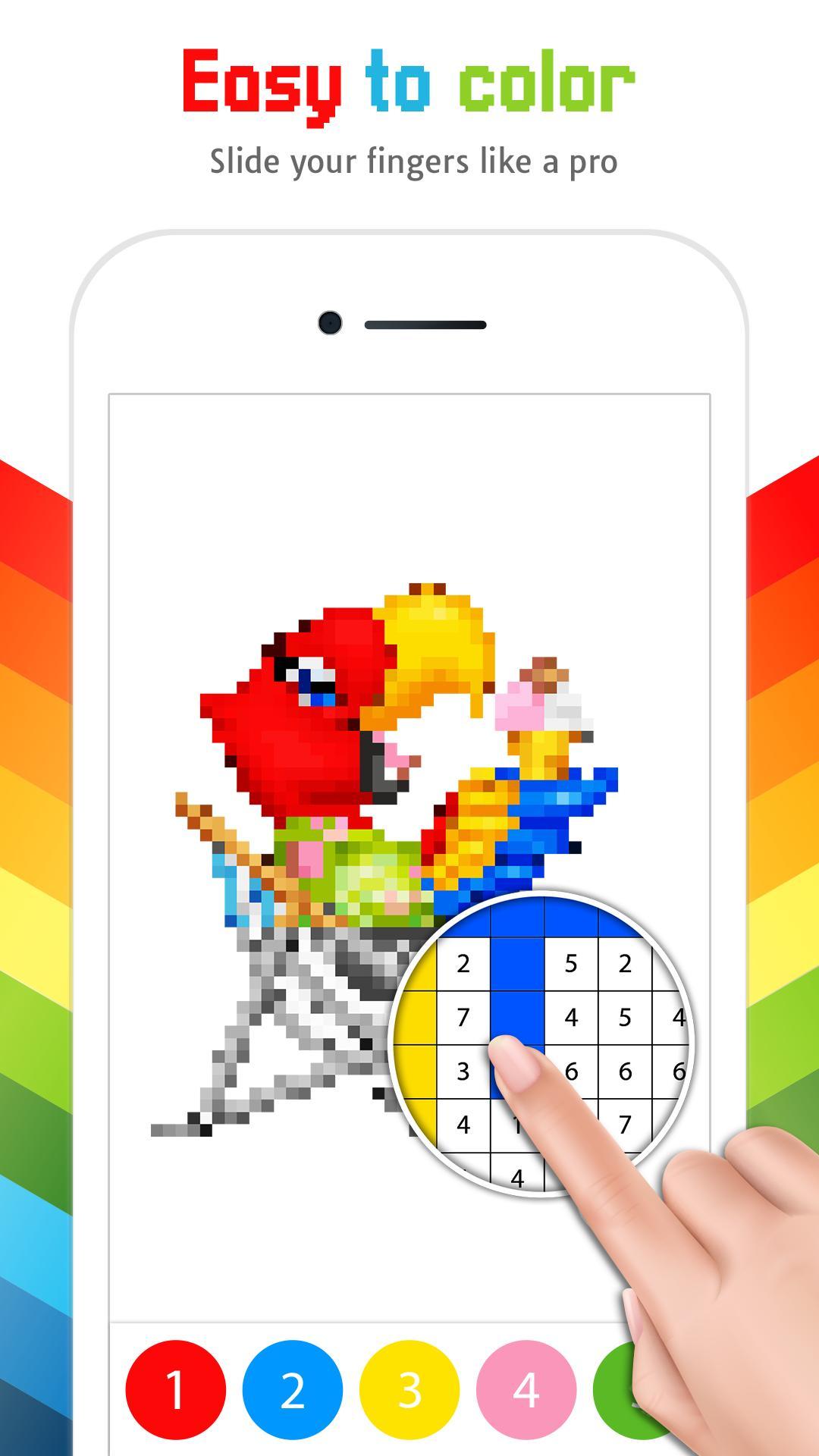 Kleurplaten Kleuren Op Nummer.Kleuren Op Nummer Kleurplaten Volwassenen For Android Apk Download