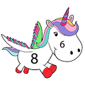 Unicorn Paint By Number - Color By Number