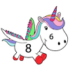 Unicorn Paint By Number - Color By Number icon