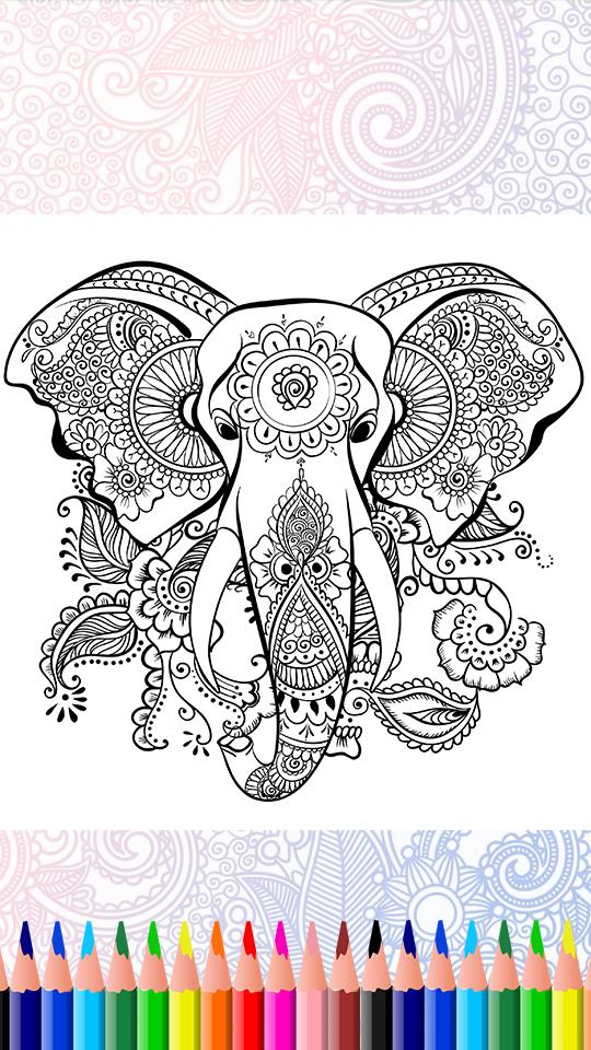 Easy Flower Mandala Coloring Pages (free printables) | 960x540