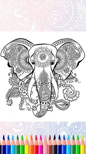 Mandala Coloring Pages Mandala Art Easy For Android Apk Download