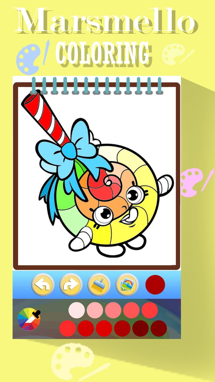 Dibujos Para Colorear Marshmello For Android Apk Download