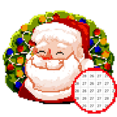 Christmas Color by Number Sandbox Pixelart Pages icon