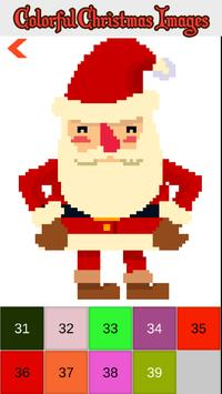 Christmas Color by Number Sandbox Pixelart Pages screenshot 4